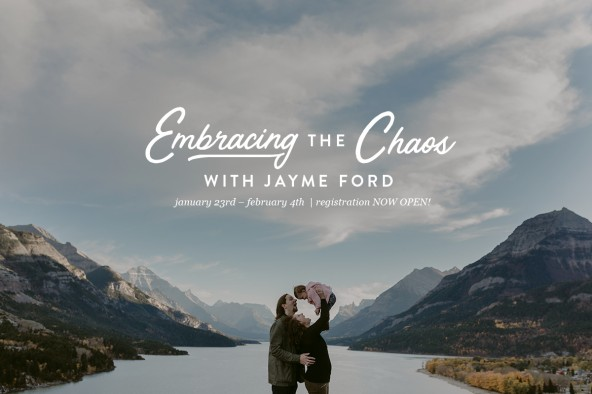 Embracing The Chaos | The Bloom Forum Online Workshop by Jayme Ford | thepaperdeer.ca